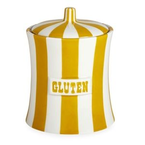 Jonathan Adler GLUTEN Vice Canister SOLD OUT